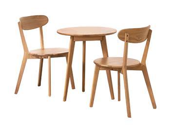 钱柜娱乐网站,钱柜娱乐官方网站_现代简约咖啡厅白橡木实木圆形餐桌