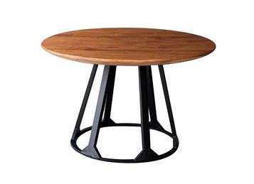 钱柜娱乐网站_美式复古铁艺餐桌 咖啡厅小圆桌