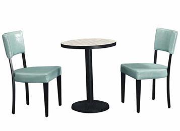 北欧休闲咖啡厅洽谈桌子时尚圆形桌子
