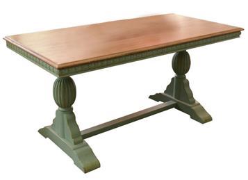 咖啡厅全实木餐桌 欧式