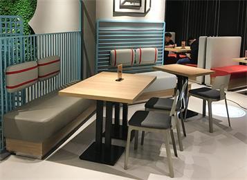 咖啡厅奶茶店休闲沙发椅
