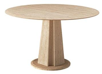 后现代简约大理石圆形咖啡桌