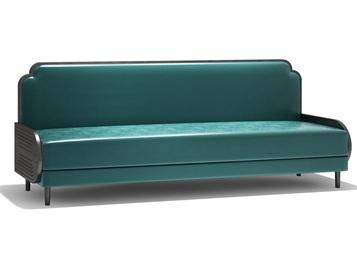 北欧咖啡店现代铁艺卡座沙发