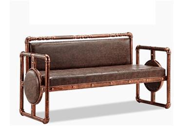 钱柜娱乐官方网站【首页】_欧式复古工业风铁艺卡座沙发