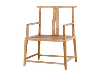 新中式太师椅官帽椅水曲柳禅椅