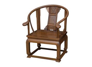 中式仿古原木象头椅实木