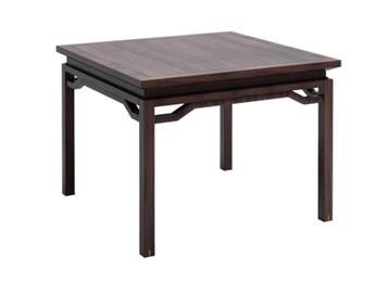钱柜娱乐官方网站【首页】_新中式实木餐桌正方形餐