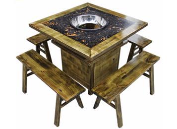 钱柜娱乐官方网站【首页】_实木边框镶嵌大理石柜式火锅桌椅
