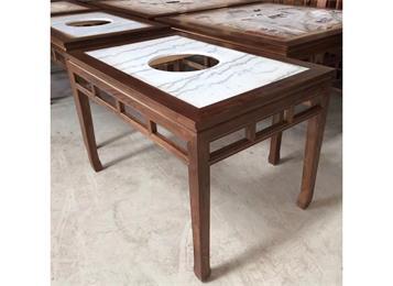 仿古中式实木边框镶嵌大
