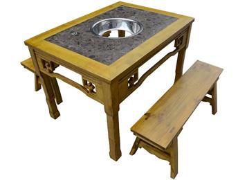重庆老火锅桌椅 煤气灶