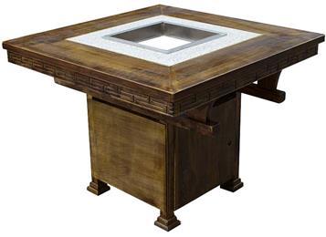 仿古雕花火锅桌椅电磁炉