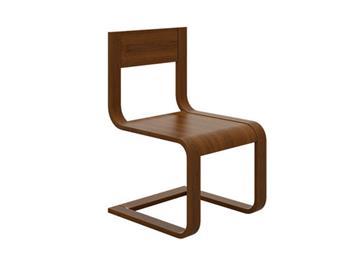 北欧实木椅子餐椅 餐厅家具弯曲木创意椅子