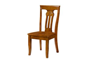 中式靠背凳子 橡木椅子