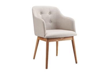 北欧简约实木单人餐椅
