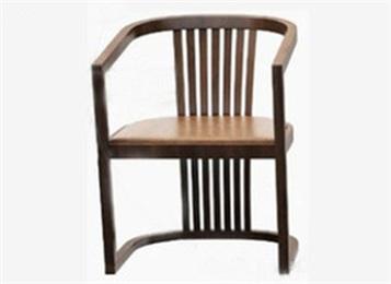 新中式白蜡木简约实木椅