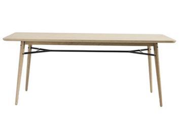 北欧原木实木餐桌