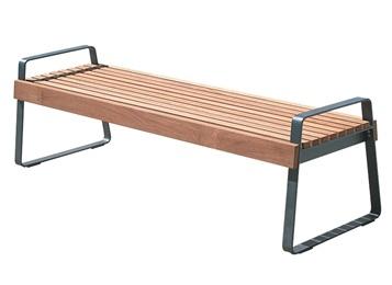 企业食堂不锈钢实木长条凳子