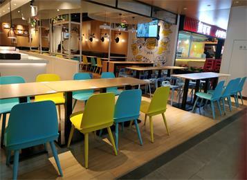 食堂餐厅桌椅_饭店桌椅