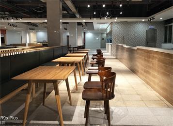 员工餐厅食堂桌子_公司饭堂餐桌