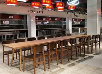 企业单位职工饭堂餐桌椅