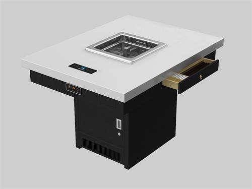 韩式智能无烟设备火锅桌