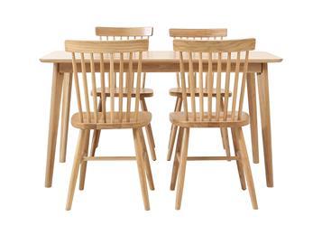 日式现代简约长方形餐桌