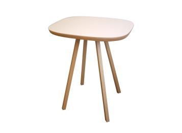 北欧简约圆形全实木餐桌