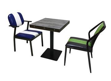 现代简约实木小方桌