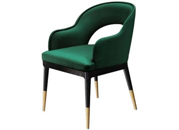 轻奢后现代简约_西餐厅创意时尚椅子_咖啡店休闲