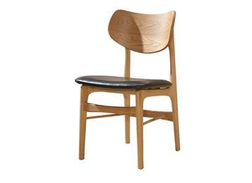 简约休闲实木椅 西餐厅椅