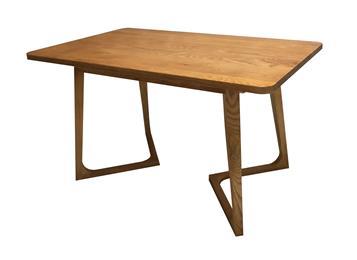 简约休闲全实木西餐厅桌