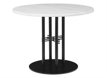 现代简约金属脚大理石西餐桌
