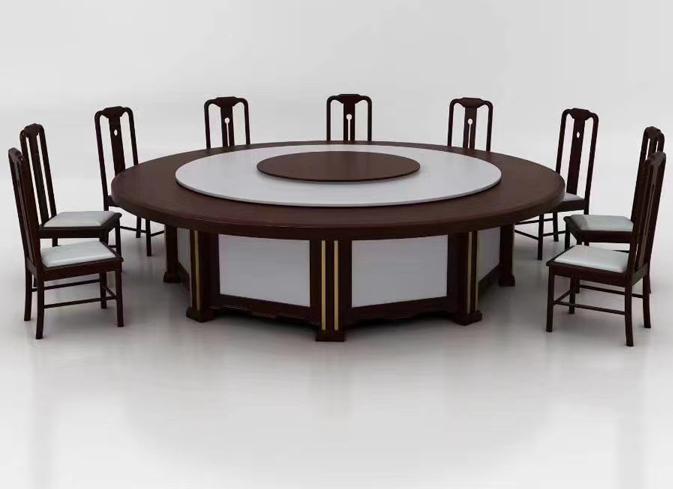 新中式宴会厅高档实木电