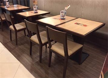 中式饭店实木桌椅_餐厅乡