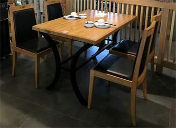 酒楼餐馆桌椅_中式快餐厅