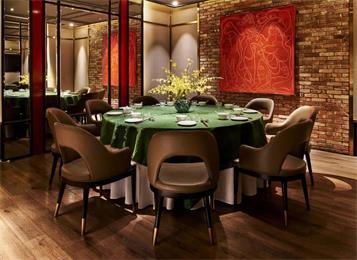 高档饭店的桌椅_餐馆餐
