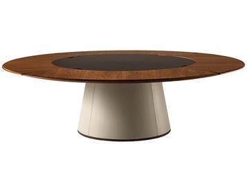 宴会酒楼中式实木大圆桌家具