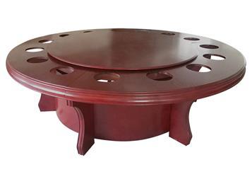 火锅餐桌电磁炉电动圆桌