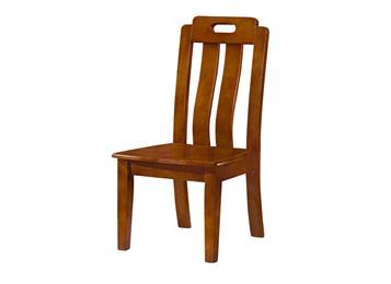 简约现代中式餐椅 靠背
