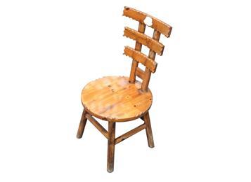 炭化木餐椅 火烧木餐馆椅子
