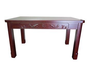 钱柜娱乐官方网站【首页】_现代简约中餐厅实木餐桌