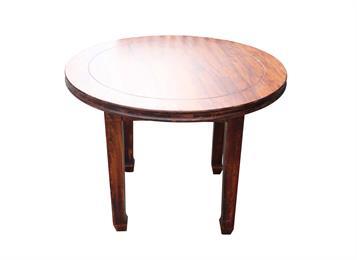 钱柜娱乐网站_中餐厅现代简约实木圆餐桌
