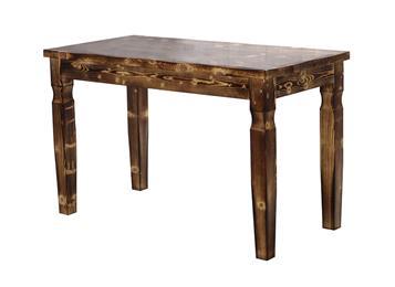 钱柜娱乐网站_实木碳化饭店餐桌 中餐厅仿古桌子