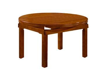 钱柜娱乐网站_全实木现代简约圆餐桌