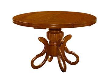 钱柜娱乐官方网站【首页】_可折叠圆形实木餐台 4人中餐厅简美小餐桌