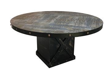 复古怀旧实木中餐厅桌子