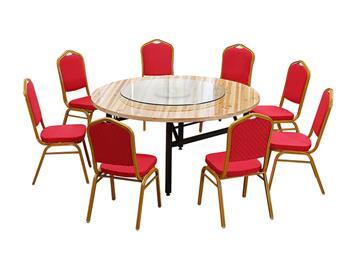 钱柜娱乐网站_实木圆桌面 酒店饭店大圆桌 中餐厅折叠圆桌
