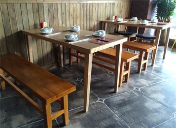 酒楼中式仿古餐桌_主题