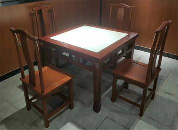 中餐厅中式餐桌椅_湘菜