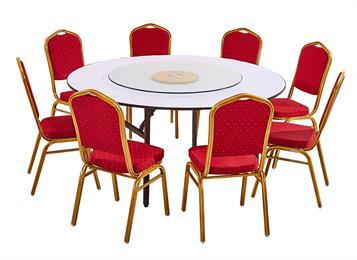 中餐厅圆桌 圆台面pvc圆桌面 酒店大圆桌 宴会圆桌